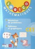 MDI - Mathématiques CE1 - Résolution de problèmes ; Tableaux et graphiques.