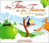 Stéphane Guillermin - Les Fables de la Fontaine en chanson - CD-Audio.
