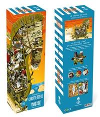 Sébastien Telleschi - A la recherche de la Carotte Bleue - Puzzle cherche & trouve de 200 pièces.