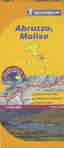 Michelin - Abruzzo, Molise - 1/200 000.