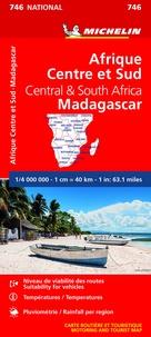 Michelin - Afrique Centre et Sud, Madagascar - 1/4 000 000.