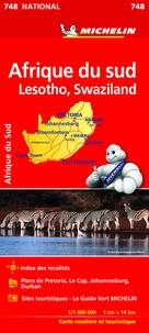 Michelin - Afrique du sud - Lesotho, Swaziland - 1/400 000.