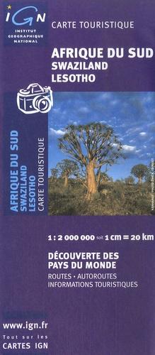 Carte Ign Afrique Du Sud.Afrique Du Sud Swaziland Lesotho 1 2 000 000
