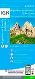 IGN - Aiguilles de Bavella Solenzara, Parc naturel régional de Corse - 1/25 000.
