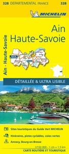 Michelin - Ain, Haute-Savoie - 1/150 000.