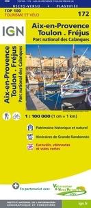 IGN - Aix-en-Provence Toulon Fréjus - 1/100 000.
