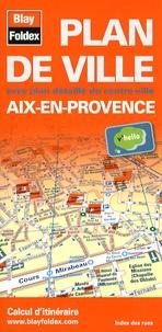 Blay-Foldex - Aix-en-Provence - Plan de ville.