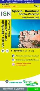 IGN - Ajaccio, Bonifacio, Porto-Vecchio, PNR de Corse (Sud) - 1/100 000.