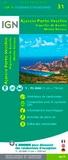 IGN - Ajaccio Porto-Vecchio, Aiguilles de Bavella, Monte Renoso - 1/75 000.