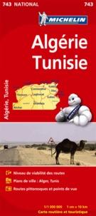 Michelin - Algérie, Tunisie - 1/1 000 000.