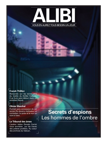 Alibi N° 3, automne 2020 Secrets d'espions