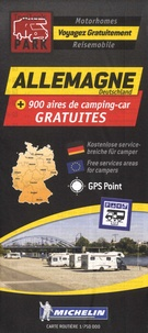 Michelin - Allemagne + 900 aires de camping-car gratuites - 1/750 000.