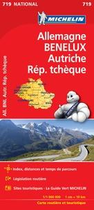 Michelin - Allemagne, Benelux, Autriche, République Tchèque - 1/1 000 000.