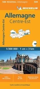Michelin - Allemagne Centre-Est - 1/300 000.