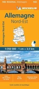 Michelin - Allemagne Nord-Est - 1/350 000.