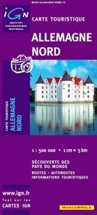 IGN - Allemagne Nord - 1/500 000.