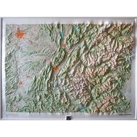 IGN - Alpes Centrales Vanoise - Carte en relief 1/250 000.