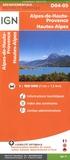 IGN - Alpes-de-Haute-Provence, Hautes-Alpes - 1/150 000.
