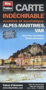 Blay-Foldex - Alpes-Maritimes, Var - 1/180 000.