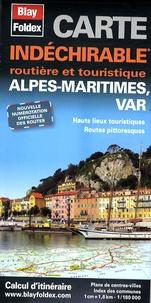 Blay-Foldex - Alpes maritimes, Var - 1/180 000.