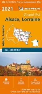 Michelin - Alsace, Lorraine - 1/200 000, indéchirable.