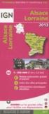 IGN - Alsace-Lorraine - 1/250 000.