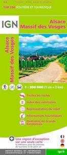 IGN - Alsace, Massif des Vosges - 1/200 000.