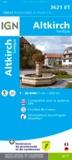 IGN - Altkirch, Sundgau - 1/25 000.