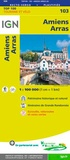 IGN - Amiens, Arras - 1/100 000.