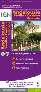 IGN - Andalousie, Séville, Cordoue, Grenade - 1/200 000.