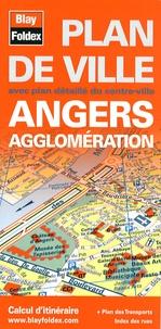 Blay-Foldex - Angers agglomération - Plan de ville.