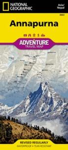 National Geographic - Annapurna - 1/135 000.