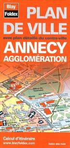 Blay-Foldex - Annecy agglomération - Plan de ville.