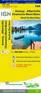 IGN - Annecy Albertville Chamonix-Mont-Blanc - 1/100 000.