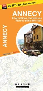 Blay-Foldex - Annecy - 1/10 000, informations touristiques, plan et index des rues.