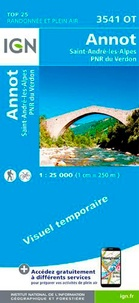 Annot, Saint-André-les-Alpes, PNR du Verdon - 1/25 000.pdf
