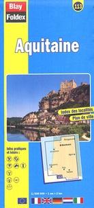 Blay-Foldex - Aquitaine - 1/200 000.