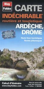 Blay-Foldex - Ardèche, Drôme - 1/180 000.