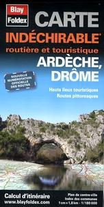 Blay-Foldex - Ardèche Drôme - 1/180 000.