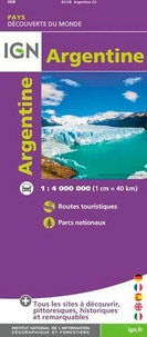IGN - Argentine - 1/ 4 000 000.