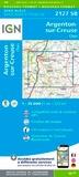IGN - Argenton-sur-Creuse Cluis - 1/25 000.