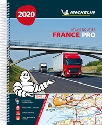Michelin - Atlas Routier France Pro - 1/250 000.