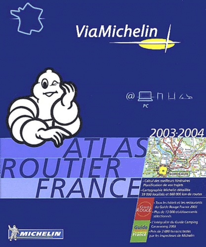 Collectif - Atlas routier France - CD-ROM.