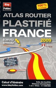 Blay-Foldex - Atlas routier plastifié France - 1/1 000 000.