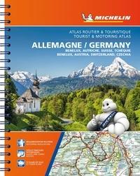 Michelin - Atlas routier & touristique Allemagne, Benelux, Autriche, Suisse, Tchéquie - 1/300 000 ; 1/400 000 ; 1/400 000 ; 1/400 000 ; 1/600 000.