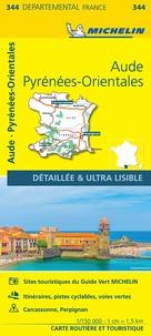Michelin - Aude, Pyrénées-Orientales - 1/150 000.