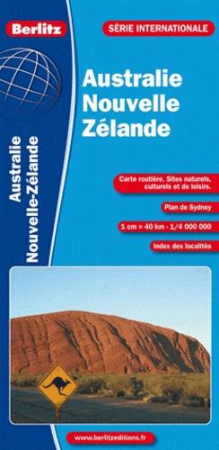 Berlitz - Australie Nouvelle-Zélande - 1/4 000 000.