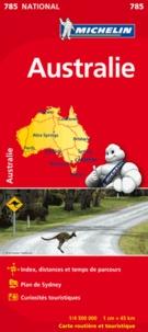 Michelin - Australie - 1/4 000 000.