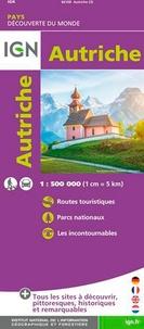 IGN - Autriche - 1/500 000.