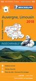 Michelin - Auvergne, Limousin - 1/200 000.